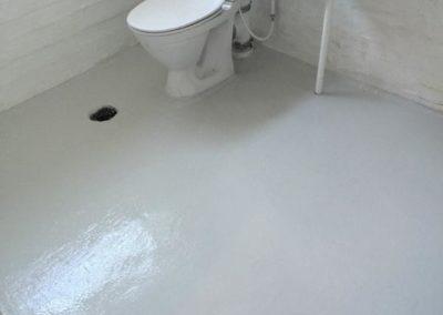 Epoxy på fliser på toilet